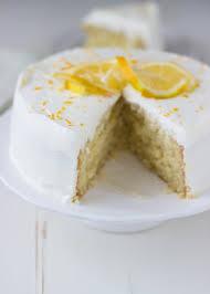 Meyer Lemon Cake with White Chocolate Mousse Blahnik Baker