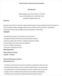 Sample Resume Teachers Sample Resume For Teaching Resume Sample For