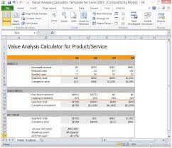 Product Profitability Analysis Excel Analysis Template Excel Magdalene Project Org