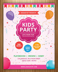 Boys Birthday Party Invitations Templates 17 Free Birthday Invitation Templates Psd Designyep