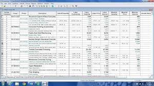 sage estimating timberline estimating demo pricing features screenshot estimating module