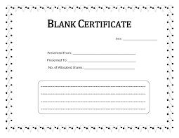 Best Teacher Certificate Templates Free Blank Certificate Templates To Print Activity Shelter