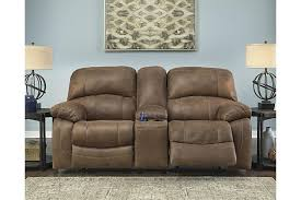 Zavier Power Glider Reclining Loveseat with Console