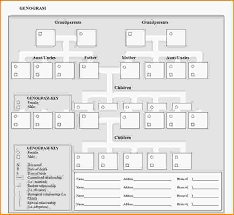 template for genogram in word free genogram template free genogram template word document download