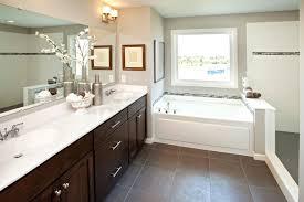 dark vinyl kitchen flooring. example of a classic brown tile bathroom design in minneapolis with an integrated sink, shaker dark vinyl kitchen flooring