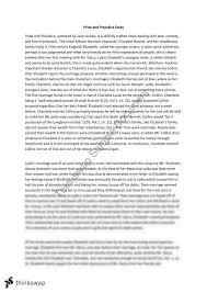 essay on pride and prejudice co essay