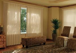 image of top sliding door window treatments