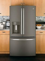 slate appliances vs stainless. Unique Appliances GE Slate Offers Something Different From The Standard White Black Or  Stainless Steel Appliances The Rich Finish Is Easy To Clean And Style  Intended Appliances Vs Stainless
