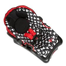 disney baby light n comfy 22 luxe infant car seat minnie dot com