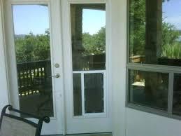 exterior wall pet door with built in sliding glass dog screen doors medium size of