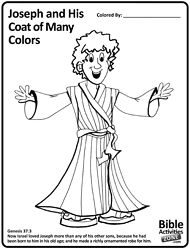 41 Bible Story Coloring Pages Joseph Joseph In Egypt Coloring Page