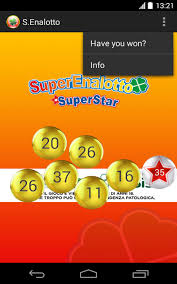 To win the jackpot you must match all 6 numbers. Superenalotto For Android Apk Download