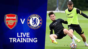 Chelsea Live Training at Stamford ...