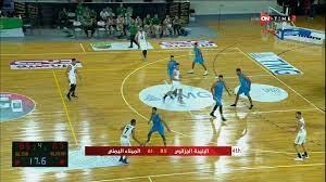 البطولة العربية لكرة السلة   اتحاد البليدة الجزائرى يهزم الميناء اليمني