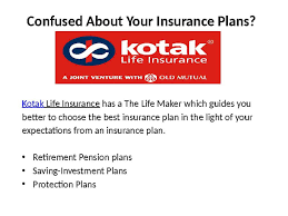 Kotak Life Insurance Best Insurance Policies Video Dailymotion