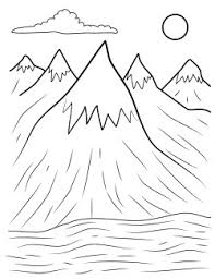 Small Picture mountains coloring pages copy henry Free Printables