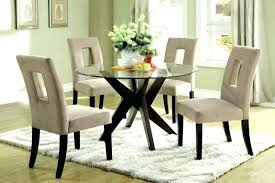 round glass top dining table set medium size of dinning for 6 chairs dinnin