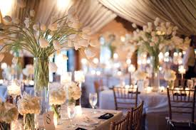 charming wedding table decoration with various white flower wedding table centerpiece ideas enchanting picture of
