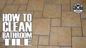 best way to clean bathroom tile. Best Way To Clean Bathroom Tile
