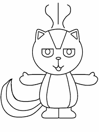 Small Picture Skunk Coloring Pages Free Skunk Coloring Pages With Skunk