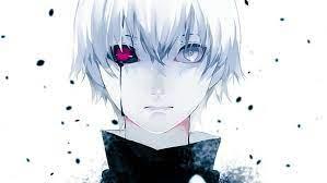 anime short hair red eyes tears tokyo