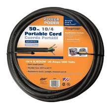 thermostat wire outdoor electrical wire wire the home depot 2 Wire Thermostat Home Depot 50 ft 10 4 30 amp black cu sjeoow cord Home Depot Line Voltage Thermostat