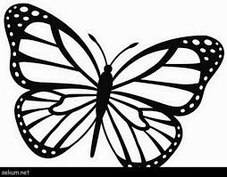 Nine free printable butterfly coloring pages that include five sets of small butterflies and four large butterflies. Brilliant Image Of Monarch Butterfly Coloring Page Davemelillo Com Butterfly Printable Butterfly Outline Butterfly Coloring Page