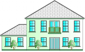 bed house plans  Buy House Plans Online  The UK    s Online House    View the Front Elevation Here