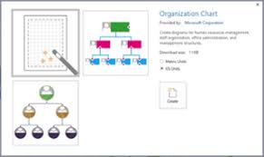 Create A Visio Org Chart From Excel