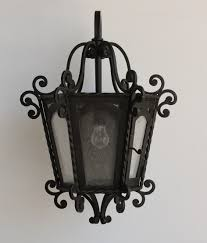 colonial wrought iron lantern lightbox moreview