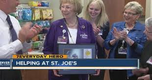 7Everyday Hero Polly Coleman gives thousands of hours to help people at St.  Joe's Hospital