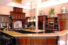 Fascinating Kitchen Design Picture Features Modern Large White - Dining room paint colors dark wood trim