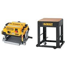 dewalt planer stand. dewalt dw735 13-inch, two speed thickness planer with stand integrated mobile dewalt