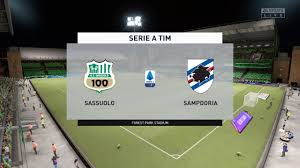 Sassuolo vs Sampdoria | Serie A Tim | Pronostico Gameplay FIFA 21 - YouTube
