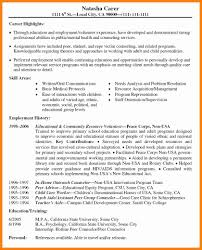 Examples Of Volunteer Work On Resume 24 Resume Volunteer Experience Applicationleter 21