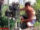 ручной установка бурения скважин