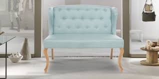 flawless two seater sofa in powder