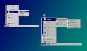 Microsoft Menu A History Of The Windows Start Menu The Verge