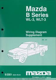 2001 mazda b series wl 3 wlt 3 elektrik schaltplÄne electrical zahlungsbedingungen payment