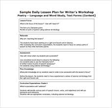 Daily Lesson Plan Template - 13+ Free Sample, Example, Format ...