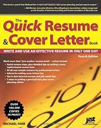 Amazon Com The Quick Resume Cover Letter Book Write And Use An