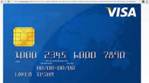 visa card numbers