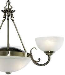 windsor art deco antique brass 5 light alabaster glass chandelier