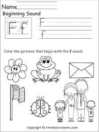 Free interactive exercises to practice online or download as pdf to print. Free Beginning Sound Worksheet Free4classrooms Letter Phonics Worksheets Kindergarten Grade 1st Jaimie Bleck