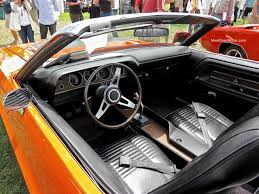dodge challenger 1970 interior. Exellent Dodge 1970 Dodge Challenger RT Convertible Interior With O