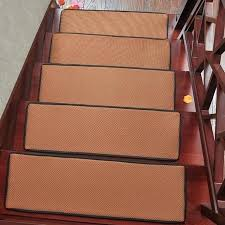 stair tread protectors top ing rectangle stair carpet non slip stair tread mats breathable solid color rugs for stair tread protector clear