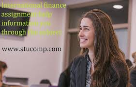finance assignment help information you through the subject  international finance assignment help information you through the subject photograph by jennifer william