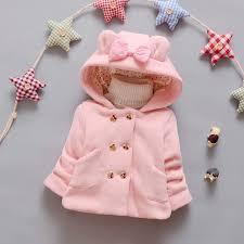 <b>Girls</b> autumn and <b>winter</b> coat 0 2 years old infant baby girl cartoon ...