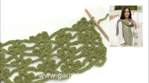 Crochet Pricing Chart How To Crochet After Chart To The Stole In Drops 202 39