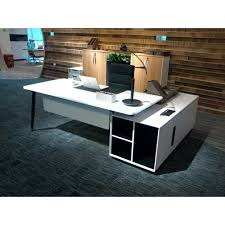 executive office desk with return.  Executive Evolve Executive Desk With Left Return White Sold Out Throughout Office With T